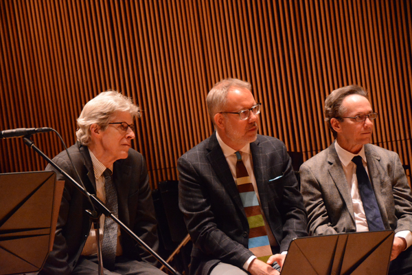 Ted Chapin, David Chase and Larry Hochman