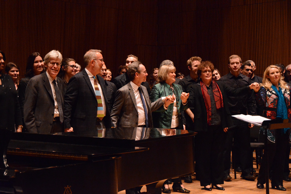 Ted Chapin, David Chase, Larry Hochman, Elisabeth Von Trapp, Judith Clurman and Essential Voices USA