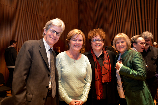 Ted Chapin, Heather Menzies, Judith Clurman and Elisabeth Von Trapp