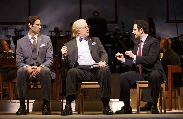 Santino Fontana (John Adams), John Larroquette (Benjamin Franklin), John Behlmann (Thomas Jefferson)
