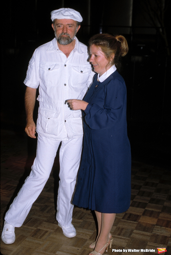 Patty Duke with her husband John Astin Attending a party at Magique Disco in New York City on September 12, 1981