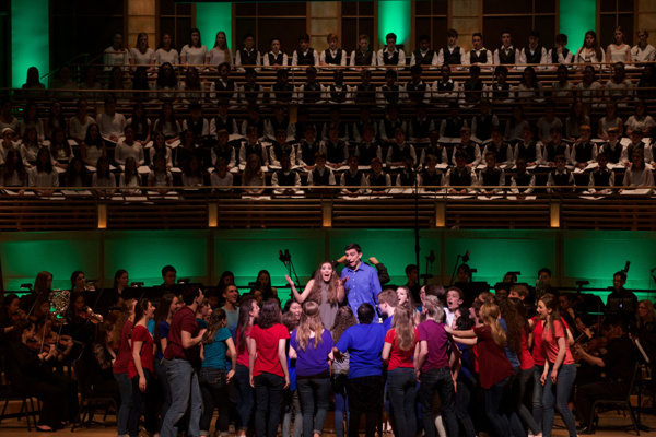 Young Artists of America at Strathmore present Children of Eden at Music Center at Strathmore with Guest Mentors, Stage Director Noah Himmelstein and Composer Stephen Schwartz
