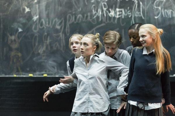 Elizabeth Teeter, Saoirse Ronan, Tavi Gevinson and  Alshlei Sharpe Chestnut