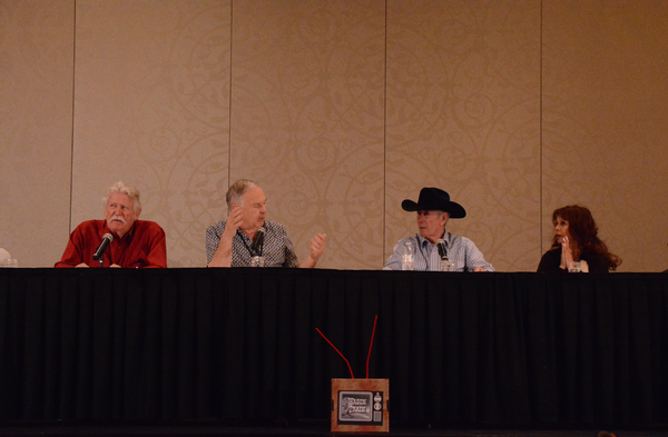 Don Collier, Boyd Magers, Robert Fuller and BarBara Luna