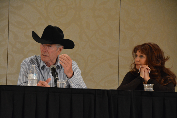 Robert Fuller and BarBara Luna