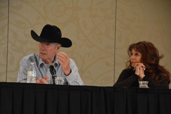 Robert Fuller and BarBara Luna