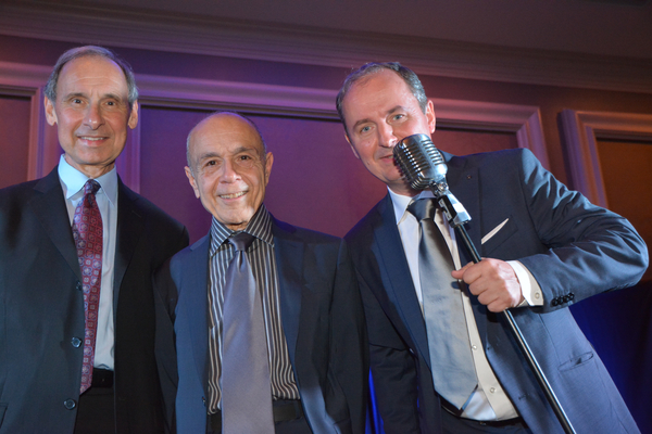 Derek Oles, Lou Forestieri and Joe Cabarbera