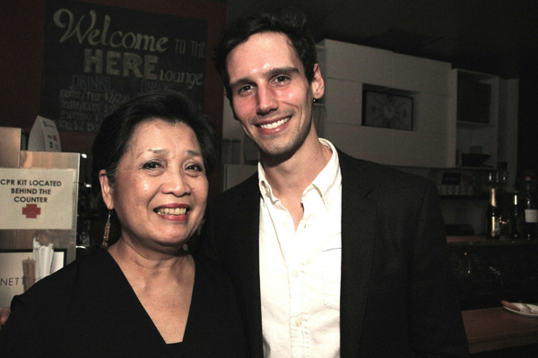 Mia Katigbak and Cory Michael Smith