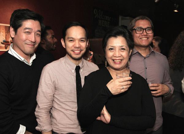 Peter Kim, Jon Norman Schneider, Mia Katigbak and A. Rey Pamamat