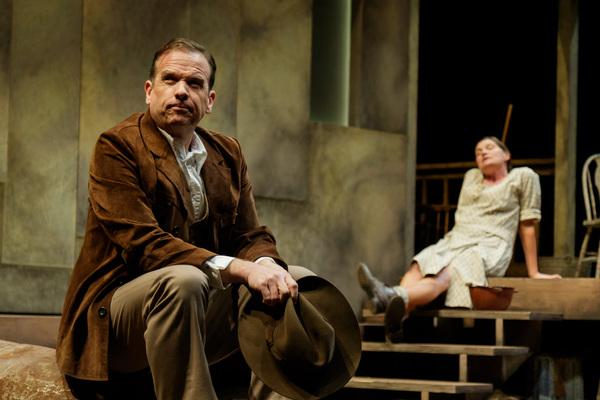 Donald Sage Mackay as James Tyrone, Jr. and Kate Forbes as Josie Hogan Photo
