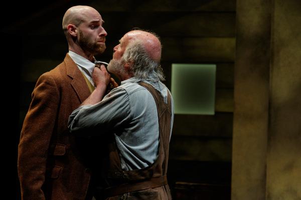 Michael Quinlan as T. Stedman Harder and Mark Lambert as Phil Hogan Photo