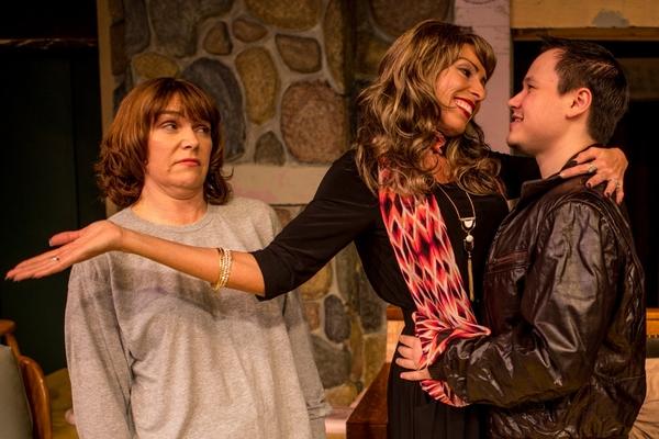 Sonia (Dayna Childs), Masha (Stephanie Leeper), Spike (Fred Johnson)