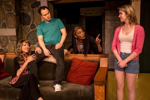 Masha (Stephanie Leeper), Spike (Fred Johnson), Cassandra (Stephanie Leeper), Nina (Leena Lambert)