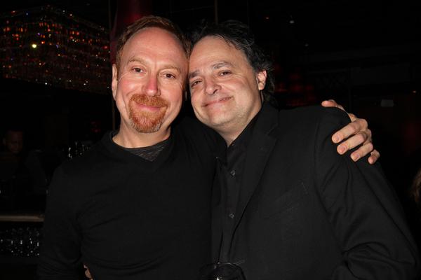 Aaron Davidman and Ari Roth Photo