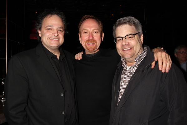 Ari Roth, Aaron Davidman and Kent Nicholson
