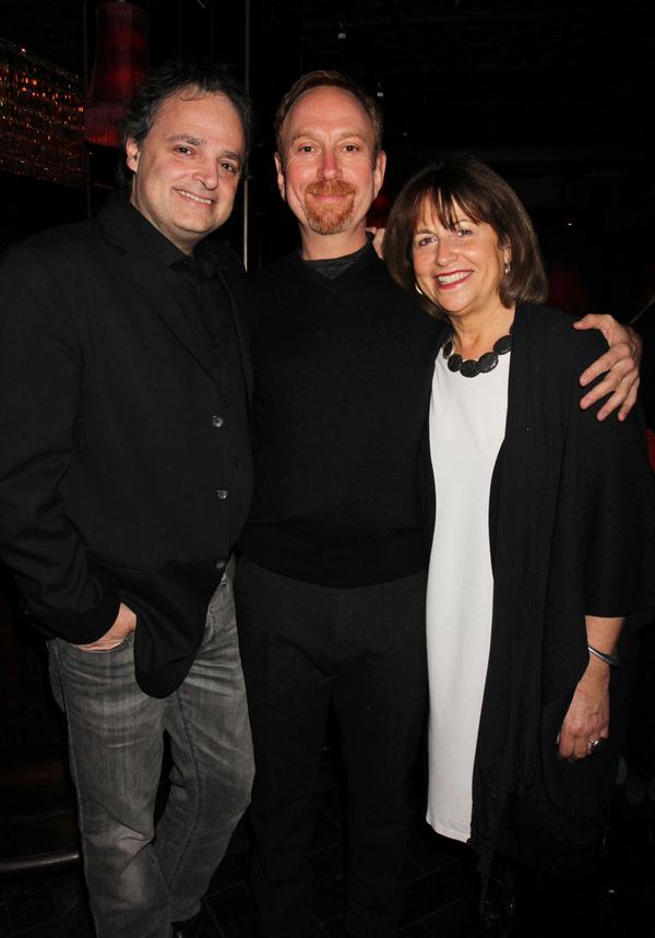 Ari Roth, Aaron Davidman and Jan Kalish Photo