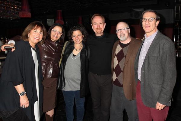 Jan Kallish, Nomi Bronner, Jodi Rudoren, Aaron Davidman, Gary Rudoren and Ethan Bronn Photo