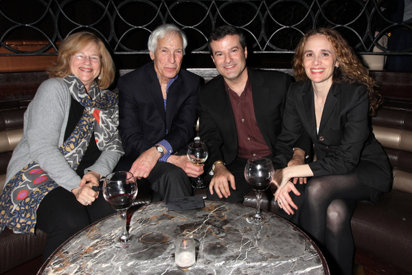Reception for the opening night of WRESTLING JERUSALEM at LAVO in New York City on March 30, 2016.  Photo by Henry McGee