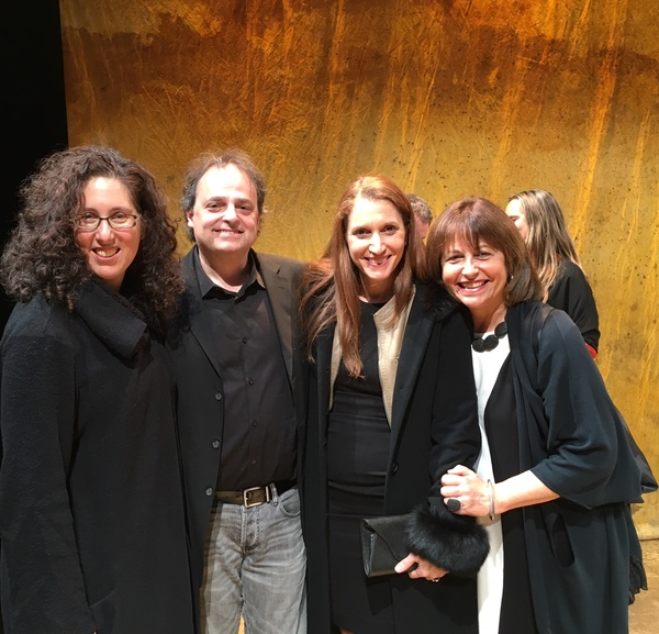 Mara Isaacs, Ari Roth, Rachel Weinstein and Jan Kallish