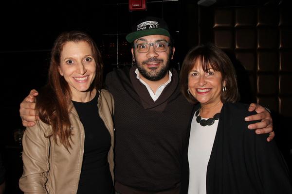 Rachel Weinstein, Osh Ghanimah and Jan Kallish