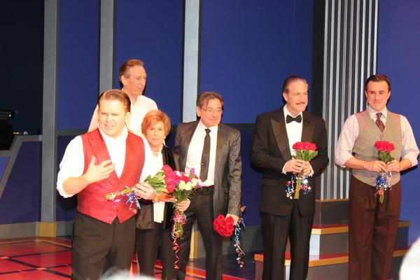 Peter Colley, Robert Creighton, Riki Kane Larimer, Bill Castellino, Bruce Sabath and Josh Walden