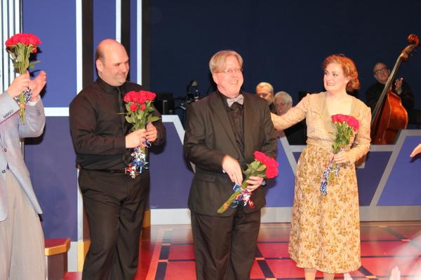 Matt Perri, Christopher McGovern and Danette Holden