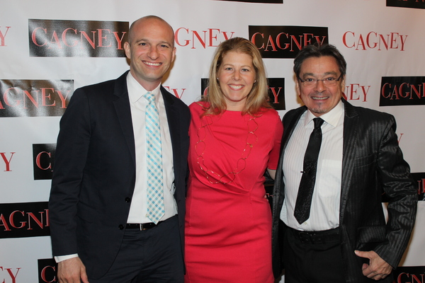 Larry Rogowsky, Suzanne Gilad and Bill Castellino Photo