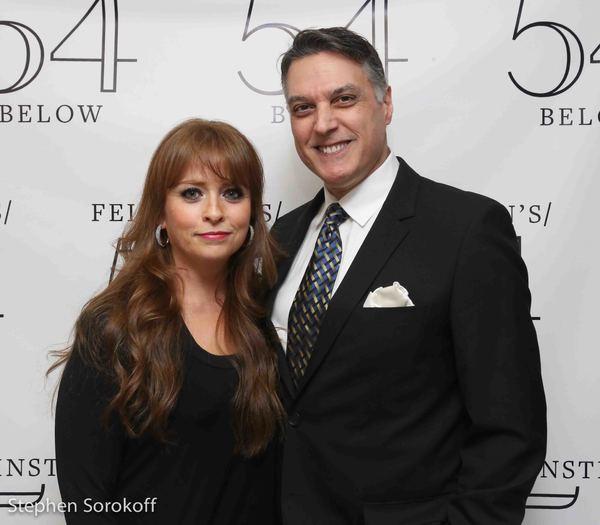 Maxine Lineman & Robert Cuccioli