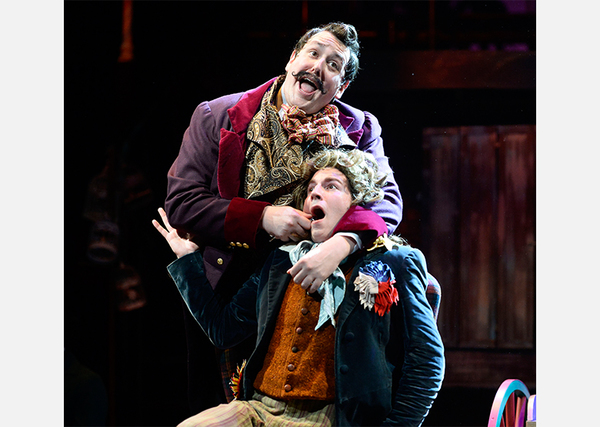 Photo Flash: First Look at David St. Louis, Annie Golden and More in PlayMakers' SWEENEY TODD