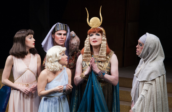 Ashley Austin Morris, Jennifer Cody, Lawrence Bullock, Charles Busch, Andy Halliday