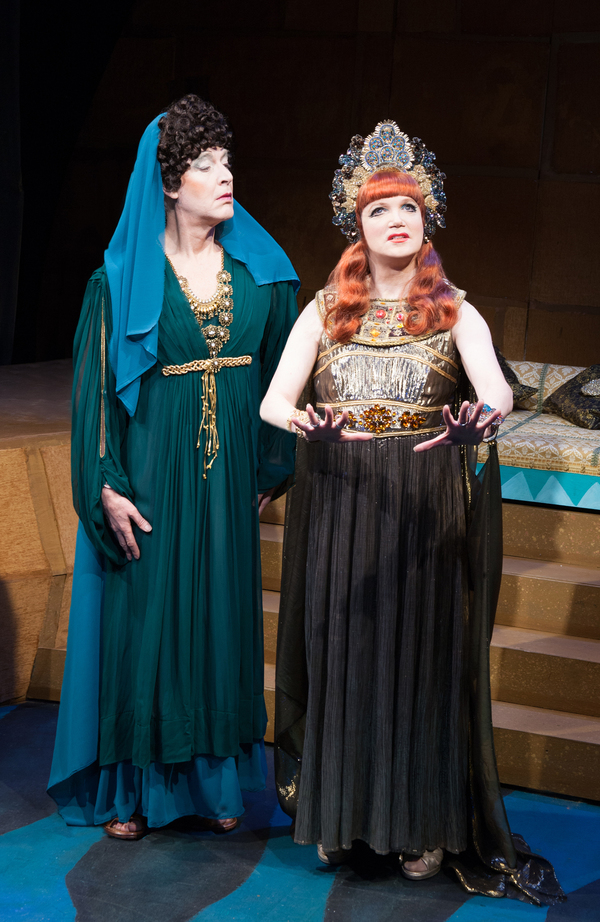 Photo Flash: Charles Busch's Sold-Out 'CLEOPATRA' Arrives in Style Off-Broadway