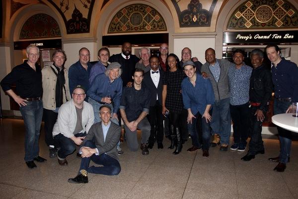 Photo Flash: Encores! 1776 Cast Celebrates After Final Performance