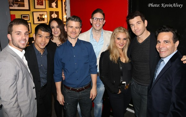 Dan Horn, Telly Leung, Kalli Siringas, Randy Redd, Orfeh, Andy Karl and Mario Cantone