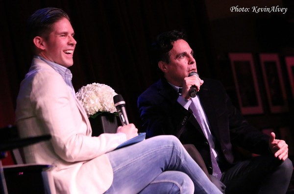 Frank DiLella and Mario Cantone