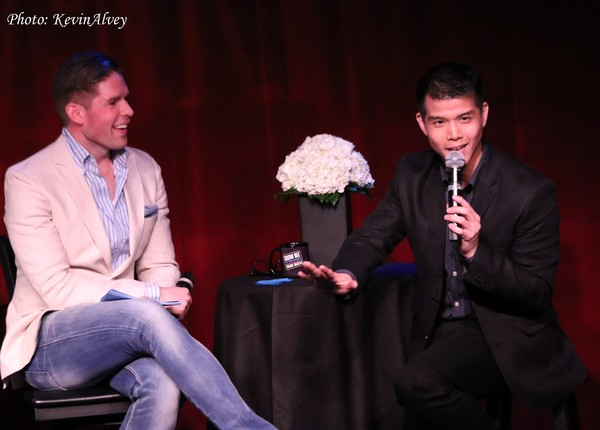 Frank DiLella and Telly Leung