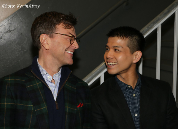 Jim Caruso and Telly Leung