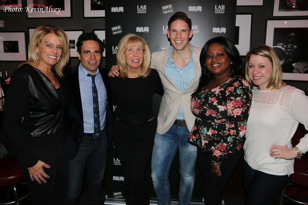 Kristen Shaughnessy, Mario Cantone, Shelley Goldberg, Ruschell Boone and Lisa Fuhrman