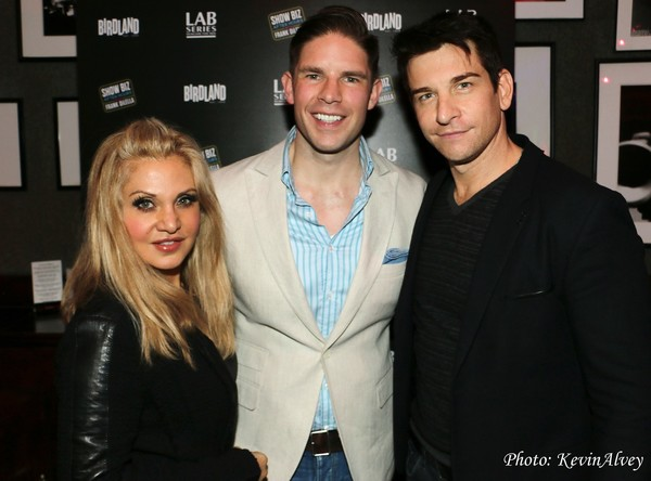 Orfeh, Frank DiLella and Andy Karl