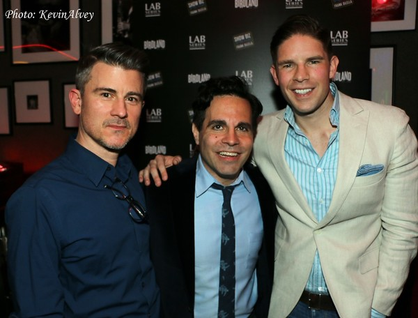 Randy Redd, Mario Cantone and Frank DiLella