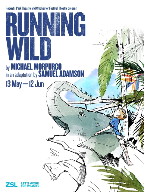 Regent's Park Open Air Theatre to Welcome Largest Ever Cast for RUNNING WILD This Spring