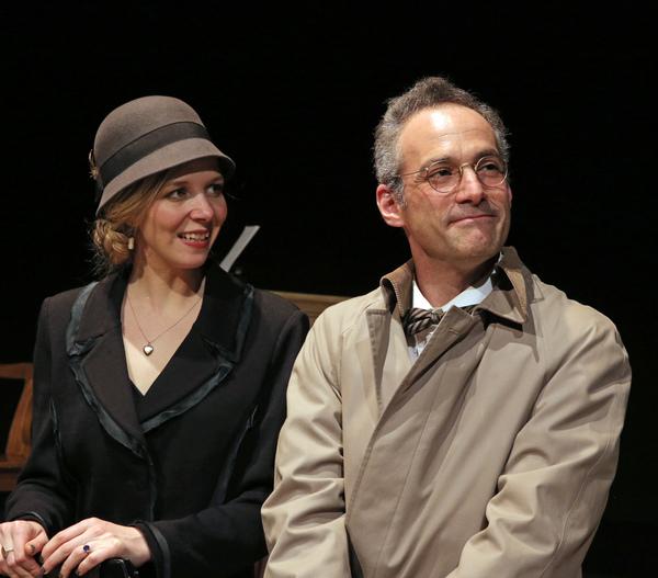 Meredith Lamothe as May and Mark Rubin as Vail