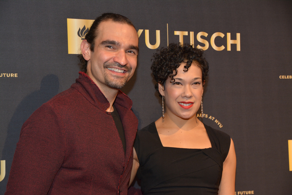 Javier Munoz and Rosie Fieldman