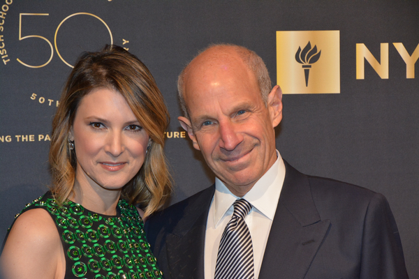 Lizzie Tisch and Jonathan TIsch Photo
