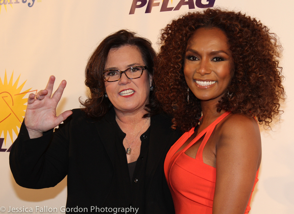 Rosie O'Donnell and Janet Mock