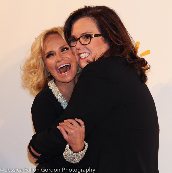 Kristin Chenoweth and Rosie O'Donnell