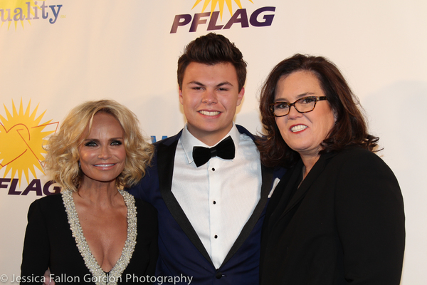 Kristin Chenoweth, Blake O'Donnell and Rosie O'Donnell
