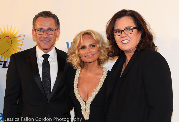 Jody M Huckaby, Kristin Chenoweth and Rosie O'Donnell