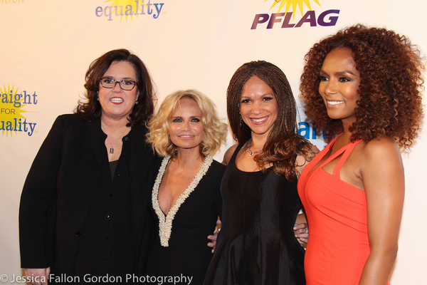 Rosie O'Donnell, Kristin Chenoweth, Melissa Harris-Perry and Janet Mock