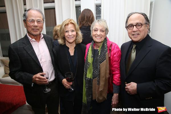 Ron Harrington, Barbara Olcott, Carol Hall and Leonard Majzlin