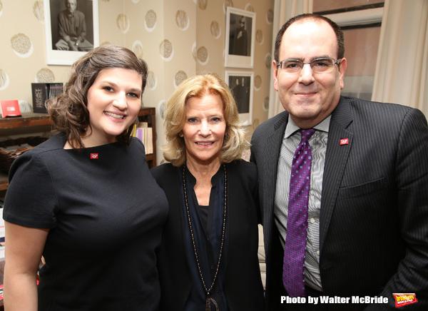 Rachel Routh, Barbara Olcott and Michael Gordon